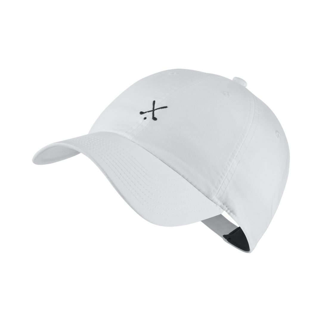 b6d7f4bce10 Nike Heritage 86 Adjustable Golf Hat Size ONE SIZE (White)