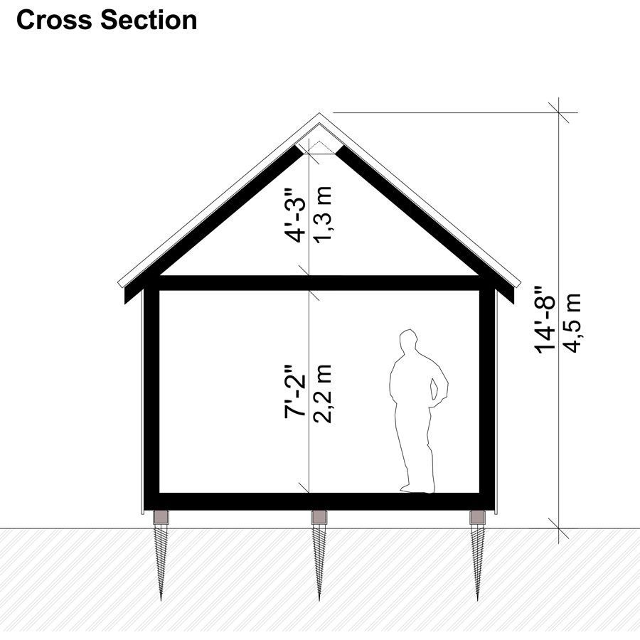Basic Cabin Plans Cabin Plans Small Cabin Plans Tiny House Floor Plans
