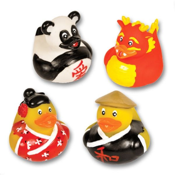 Martial Arts Rubber Duck