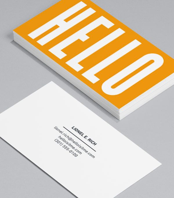 Hello Business Card Exchanges Are A Great Way To Make And Keep Contacts So Make Sure Y Business Cards Layout Innovative Business Cards Teacher Business Cards