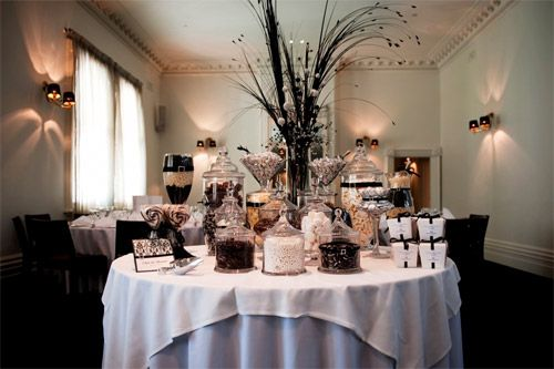 Wedding Reception Candy Bar Ideas