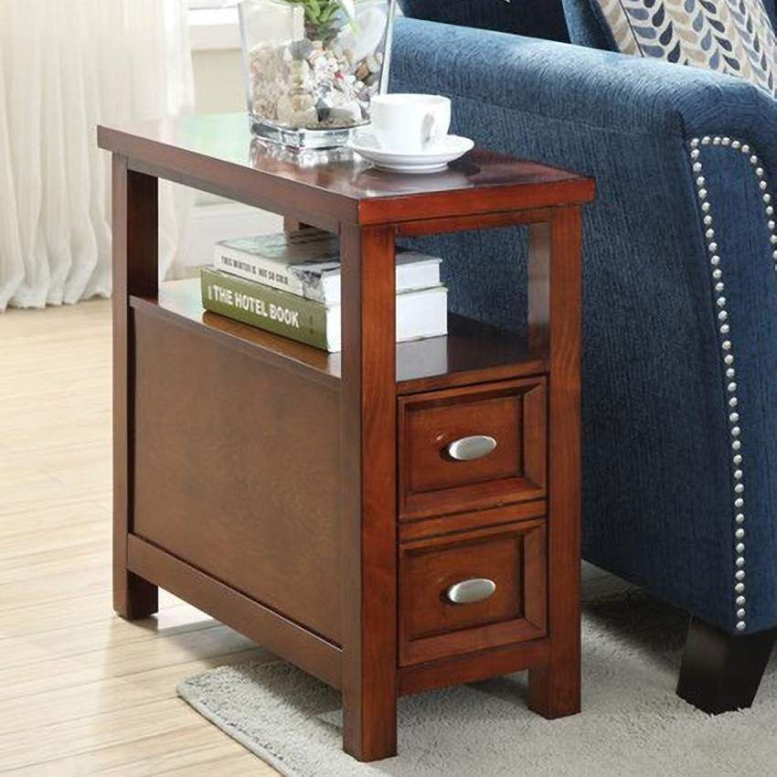 Tables Cunningham 12 Wide Cherry Wood Side Table In 2020 Side Table Wood Small End Tables End Tables