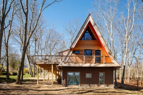 Called the Triangle House, the project entailed the renovation of a ...