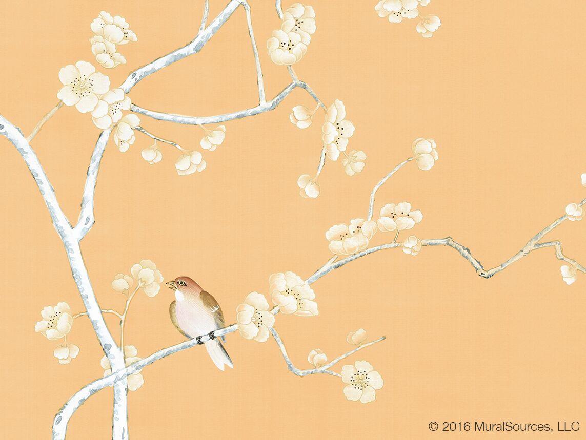 Lavena Orange. | Chinoiserie | Pinterest | Chinoiserie, Wall decor ...