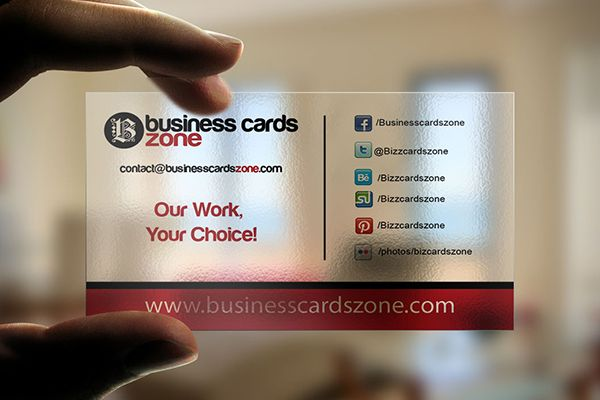 Another transparent plastic business card template from another transparent plastic business card template from businesscardszone created for self promotion and inspiration fbccfo Gallery