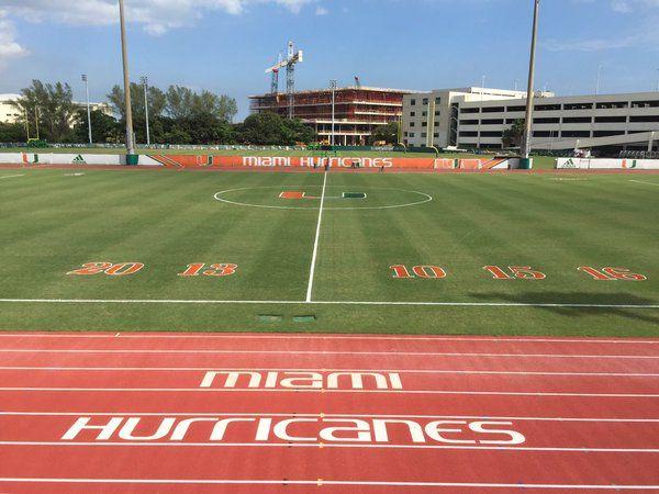 Hurricanes Soccer Canesfutbol Hurricanes Football Soccer Field University Of Miami