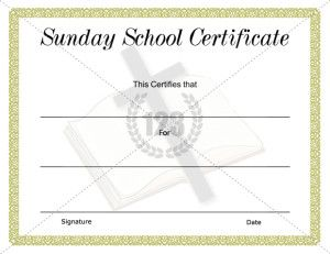 Church certificate template certificate templates sunday 123 certificate templates choose from of free printable certificate templates like award sports education kids employee and more yelopaper Images