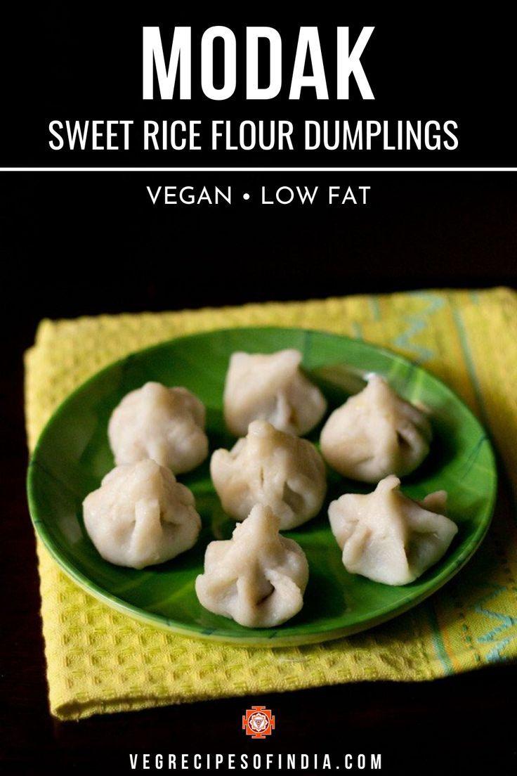 Sweet Rice Flour Dumplings in 2020 | Indian food recipes ...