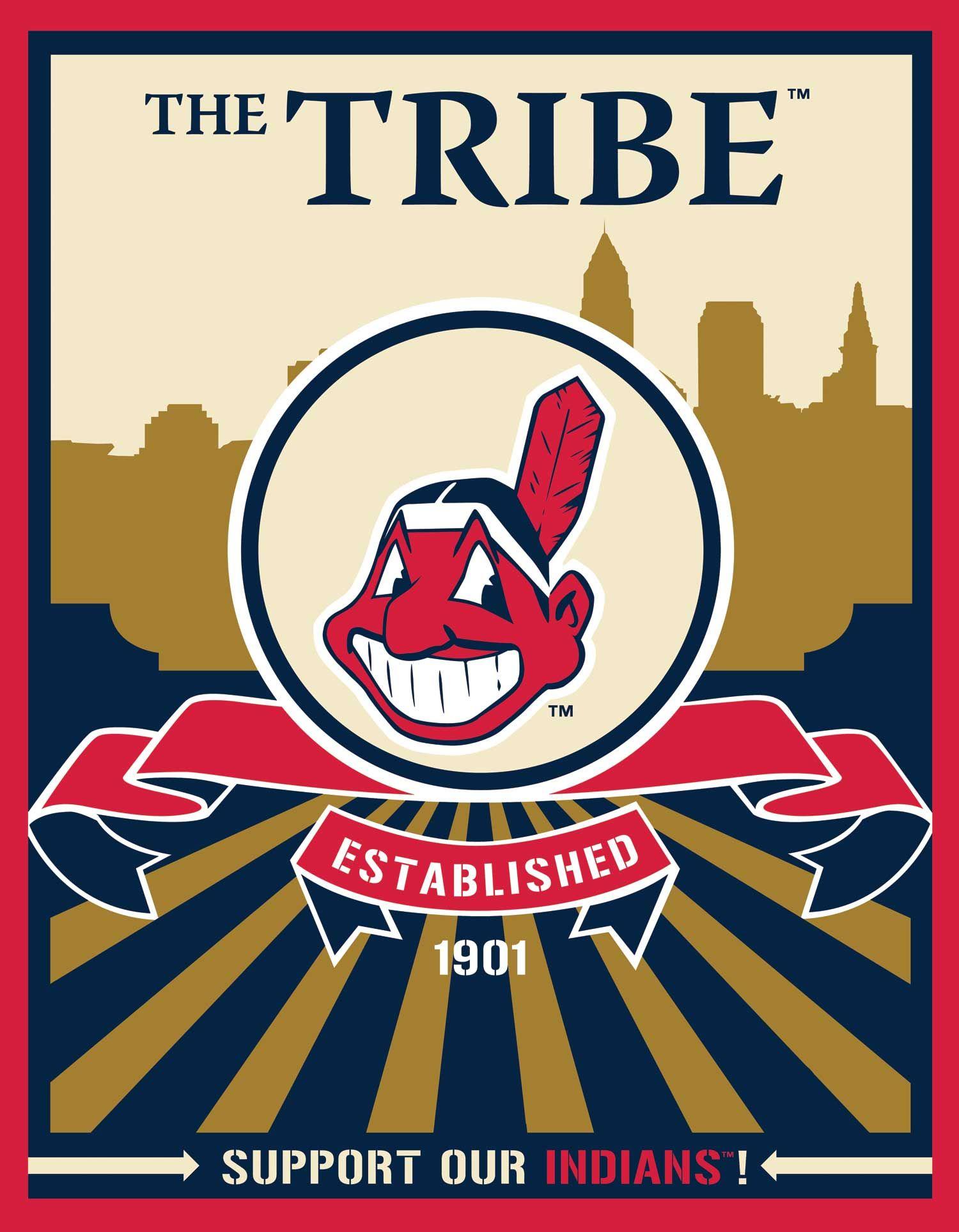Cleveland Indians Speakman art (Target)