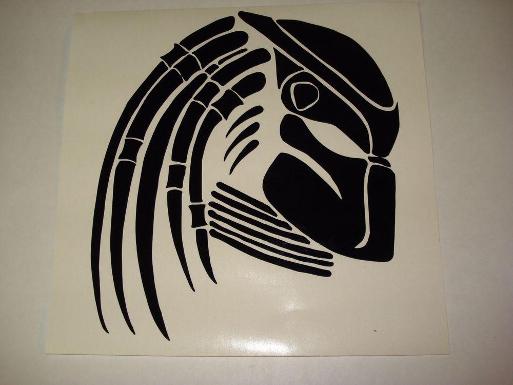 The Predator Movie Vinyl Decal Sticker AVP Alien Vs Versus ...