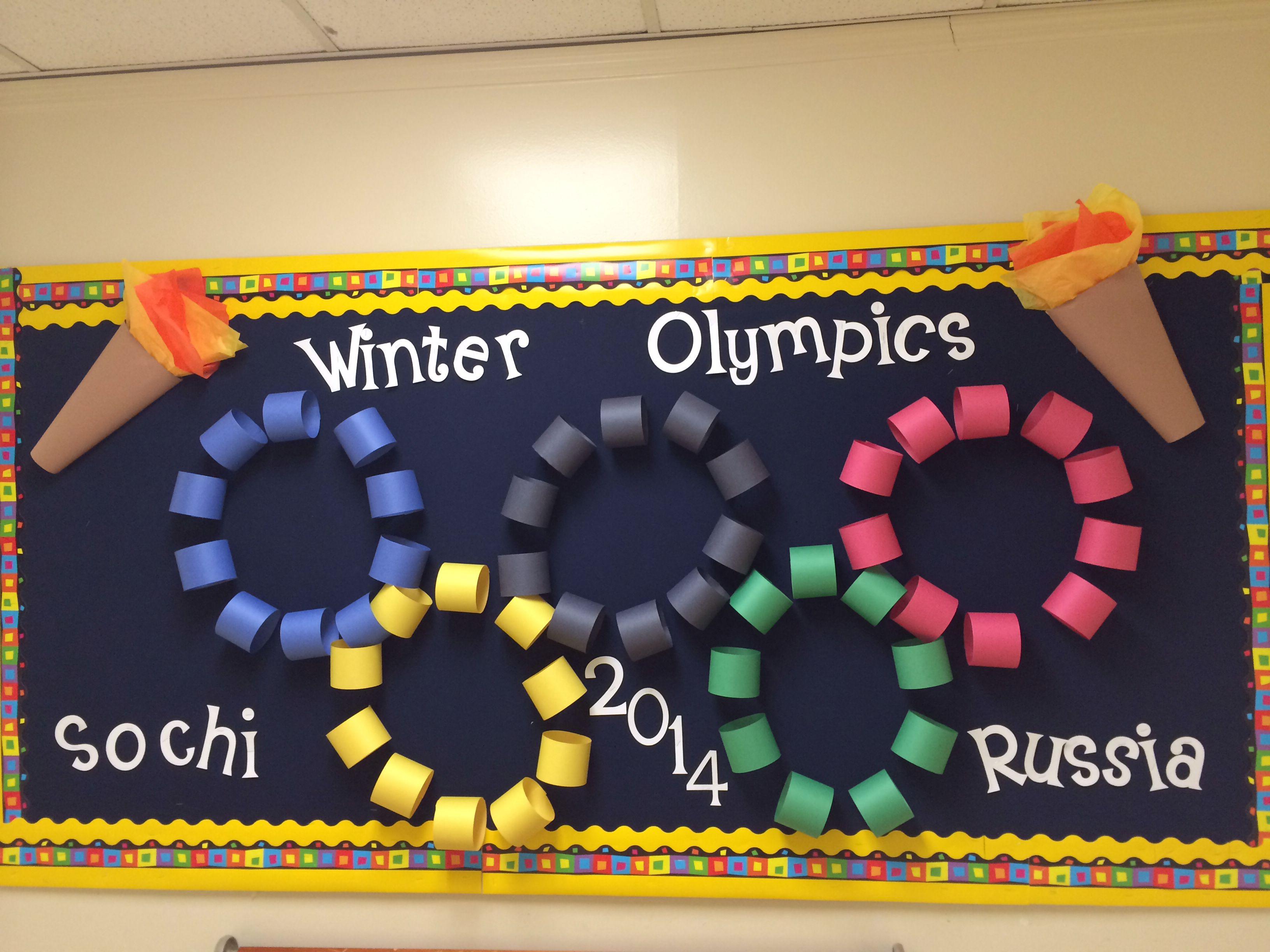 Olympic Bulletin Board 2014 Idea Theme