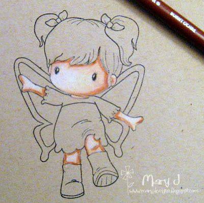 Tutorial for colouring skin with Prismacolor pencils from Where\'s my ...