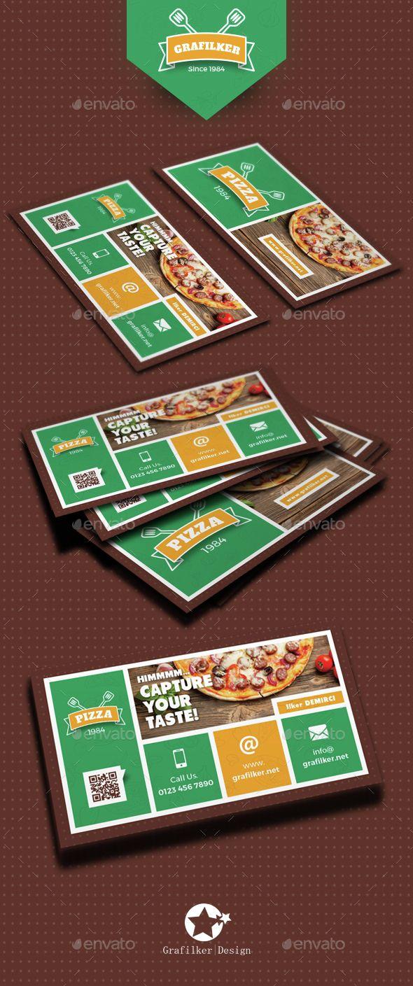 Pizza Shop Business Card Templates | Pinterest | Card templates ...