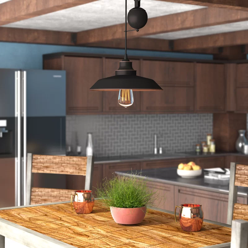 Alayna 1 Light Single Dome Pendant In 2020 With Images