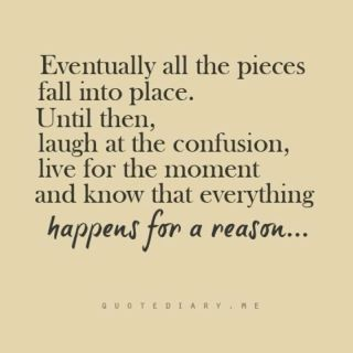 Things Happen Fro A Reason Quotes Pinterest Quotes Life
