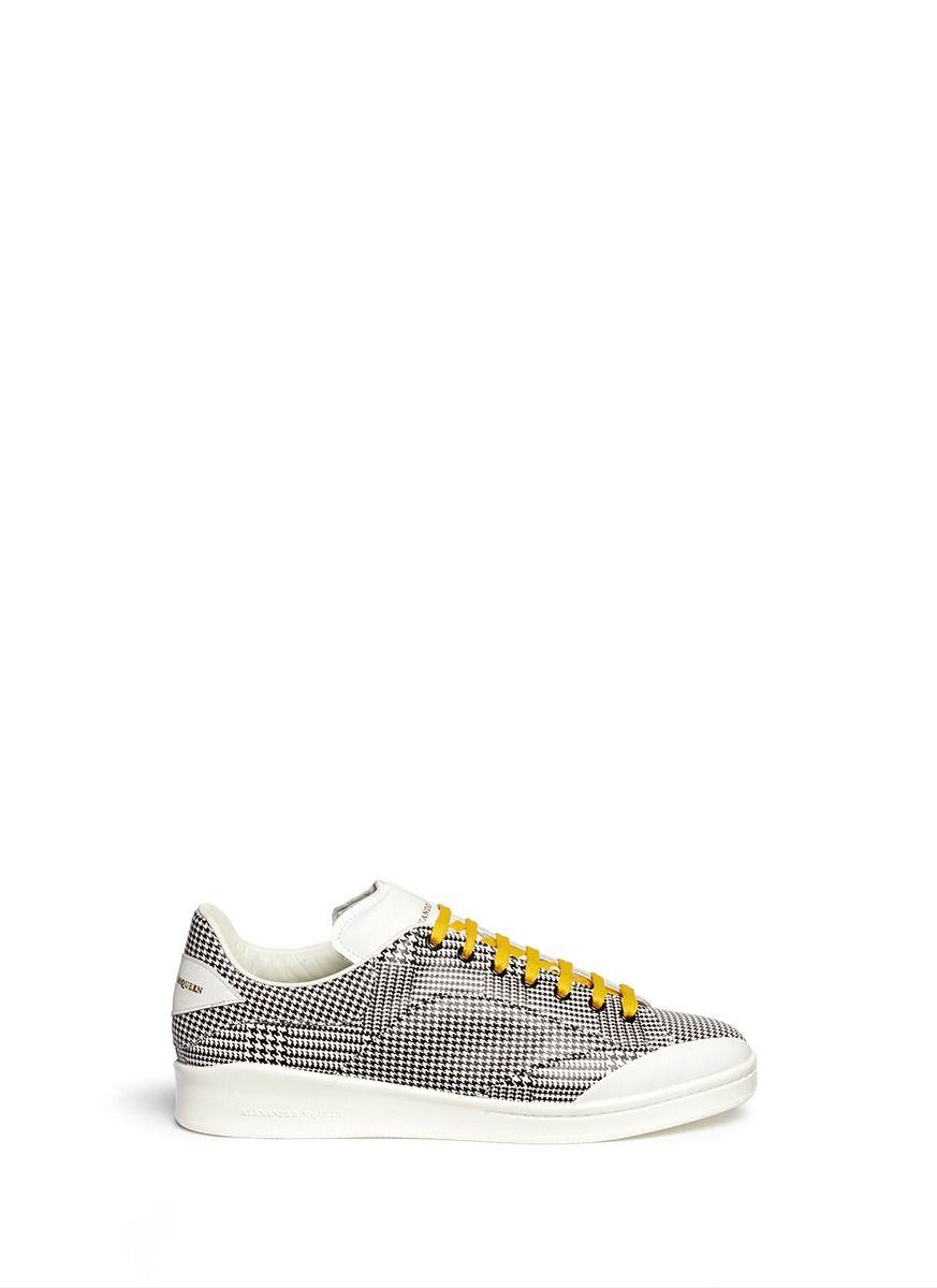 Alexander McQueen Patchwork sneakers QUAAc5