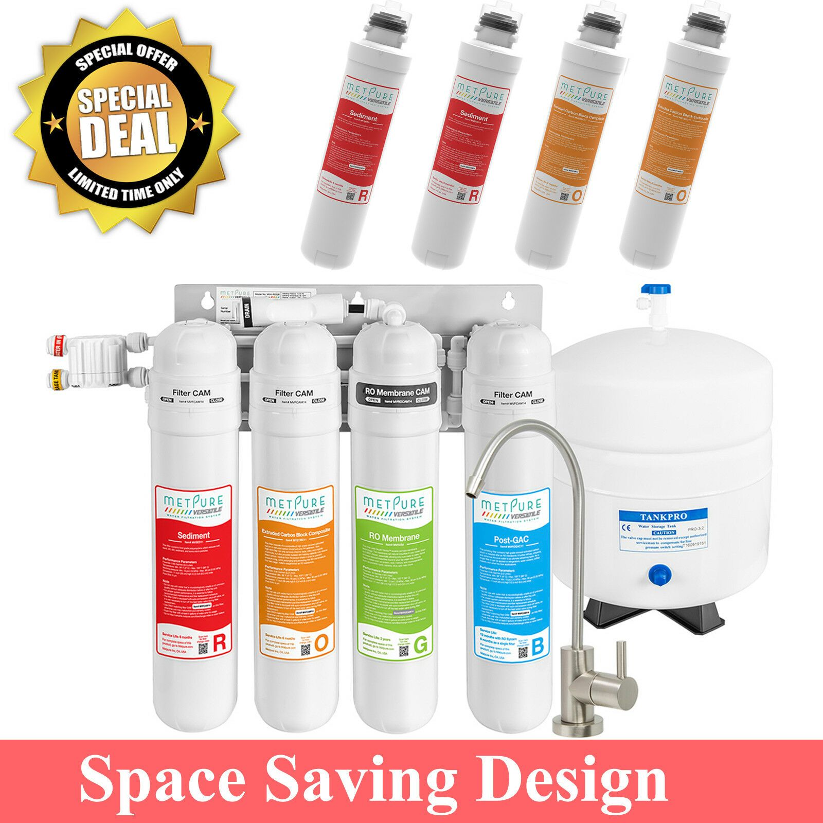 Details about Reverse Osmosis Drinking Water Filtration