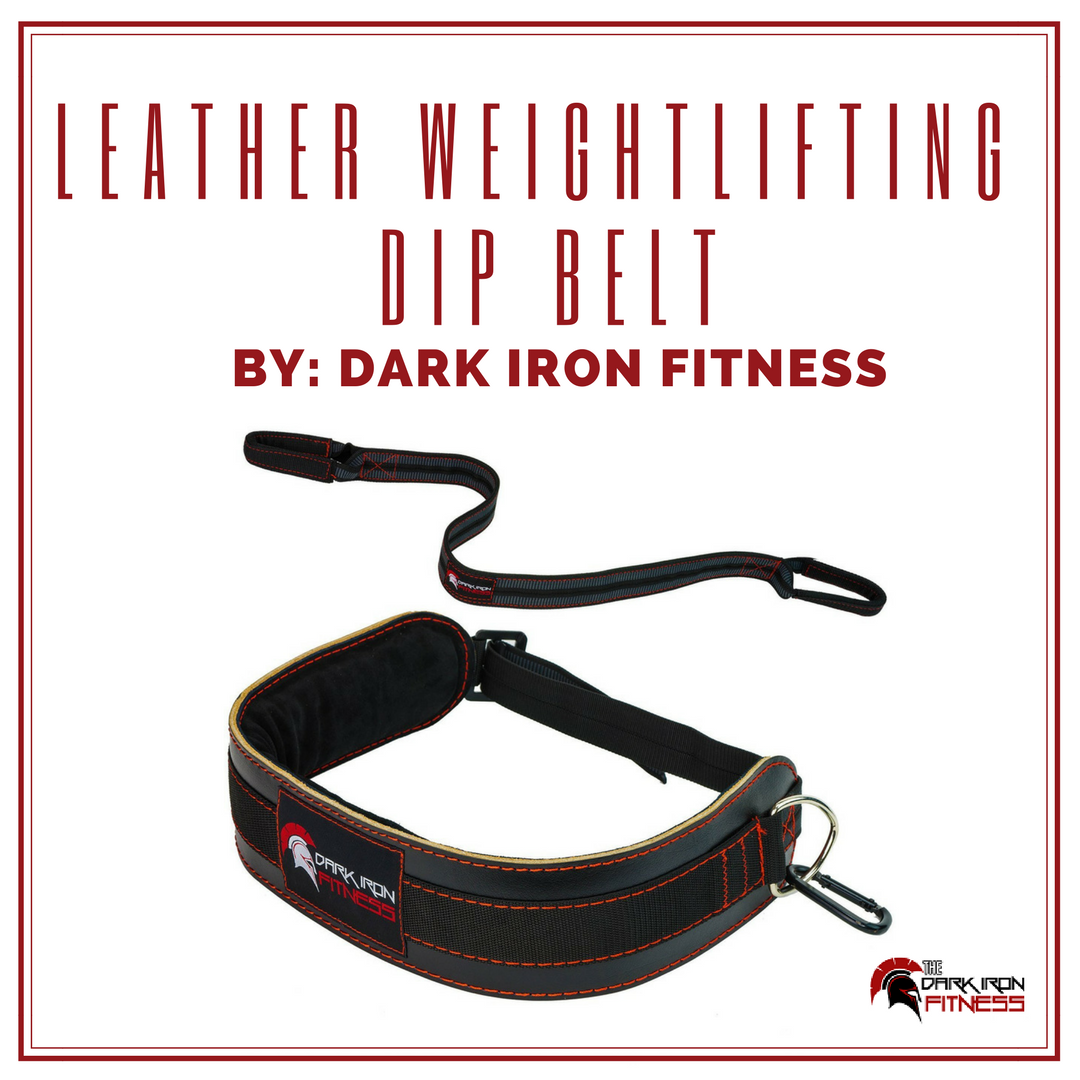Pin on Dark Iron Fitness Leather Weightlifting Dip Belt
