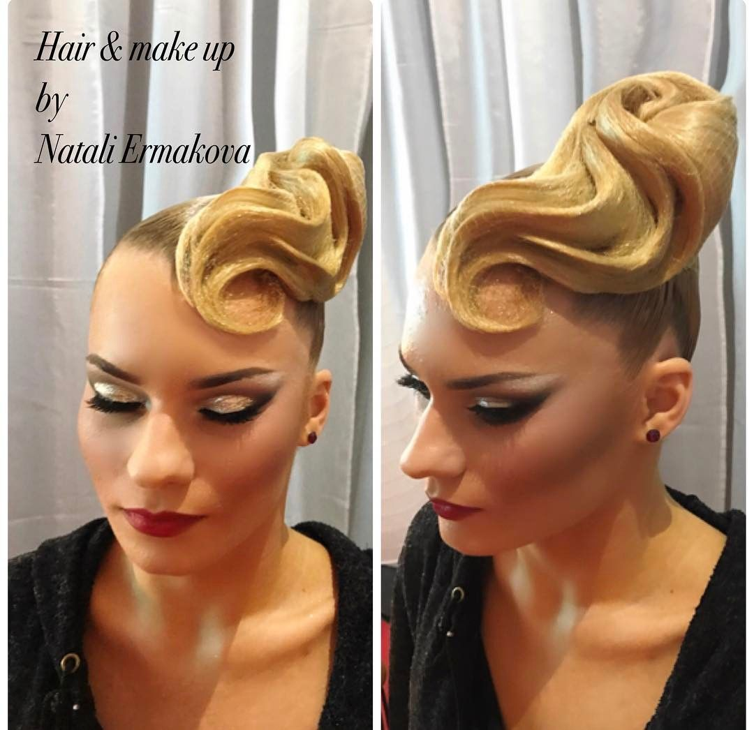 "192 Likes, 1 Comments - L'HARMONIE VN (@dolotova_ermakova) on Instagram: ""National Champions of Romania 2017 Adult St  Hair&make up by @l_harmonie_vn @dolotova_ermakova…"""