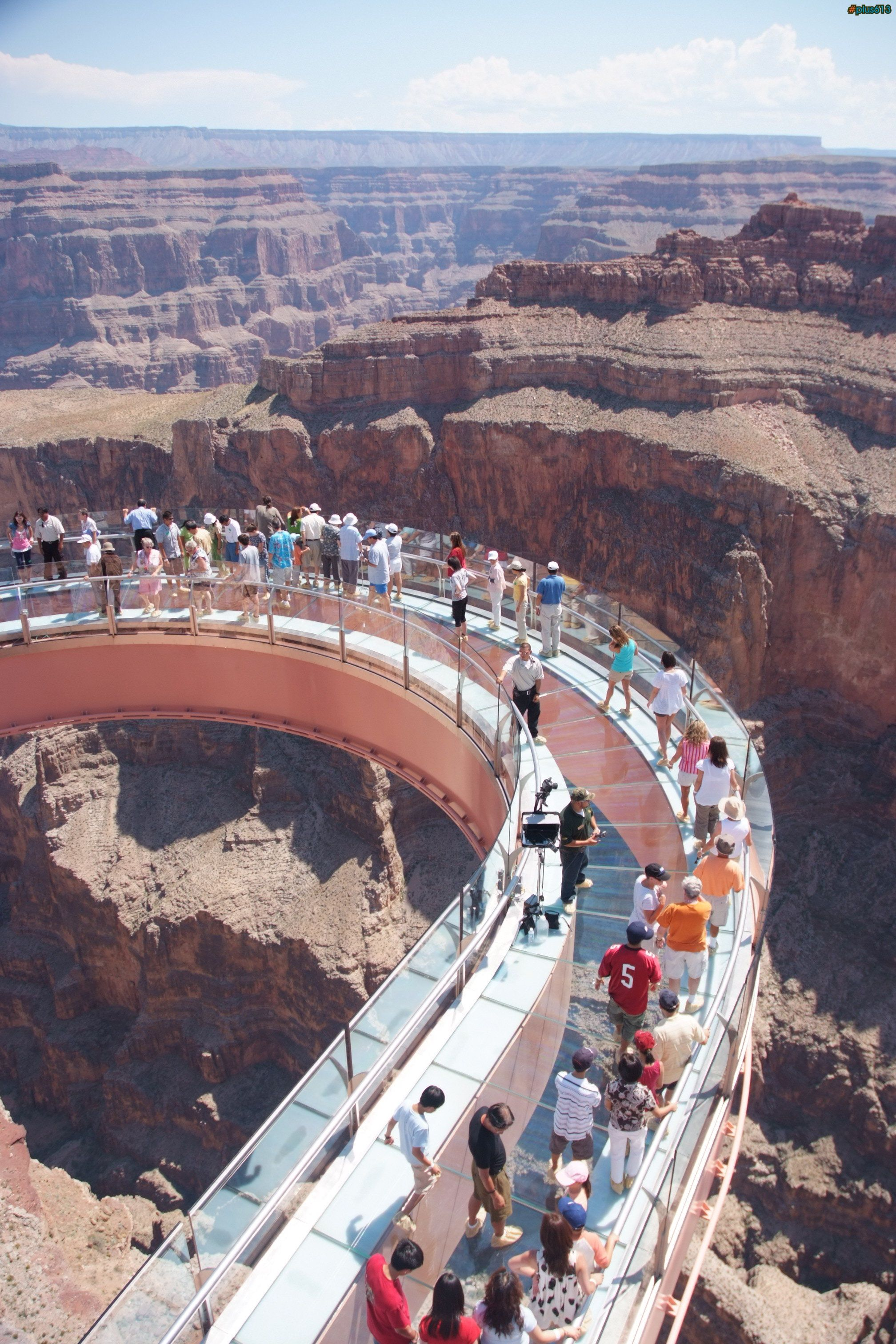 The grand canyon skywalk it is a steep sided canyon carved by the colorado river in the united states in the state of arizona it is contained within and