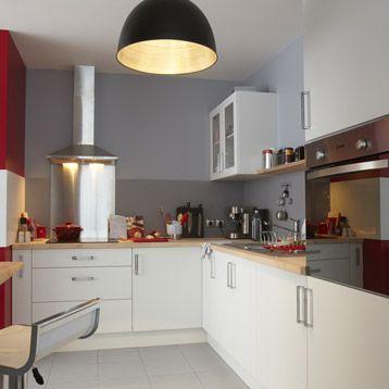 Meuble de cuisine DELINIA position type Delice blanc blanc n°0