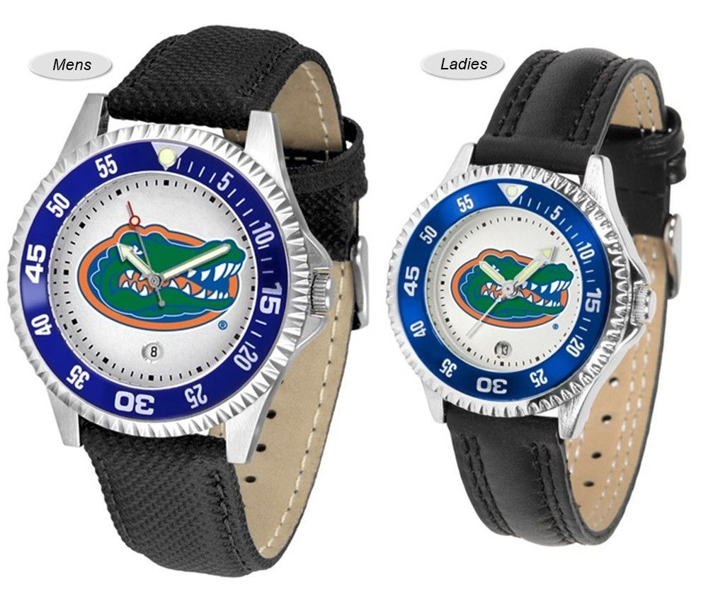 Florida Gators Competitor Sport Leather Watch