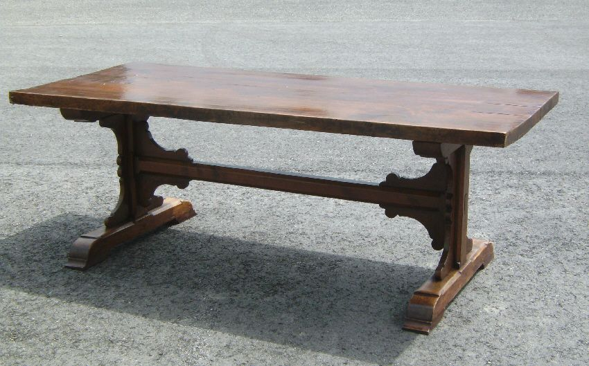 Ori__1145595534_1070021_Large_early_Continental_trestle_table_c1800  (850×529) · Make To SellTrestle TableAntiqueGoogle ...