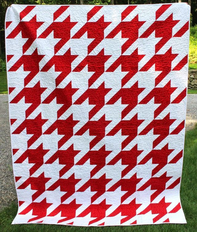 Houndstooth Quilt and Pattern! (Selvage Blog) | Quilt, Blog and ... : houndstooth quilt pattern - Adamdwight.com