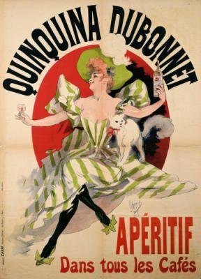Quinquina Dubonnet, Apéritif. Jules Cheret