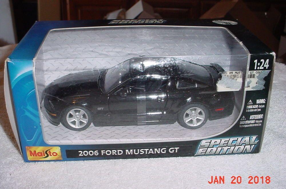 Maisto 2006 Ford Mustang Gt Black 1 24 Diecast 31997 Maisto Ford