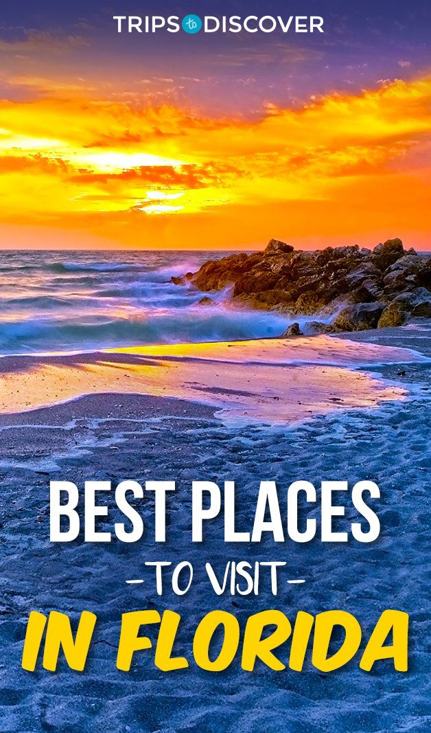12 Best Places To Visit In Florida Tripstodiscover Cool Places To Visit Florida Travel Destinations Florida Vacation