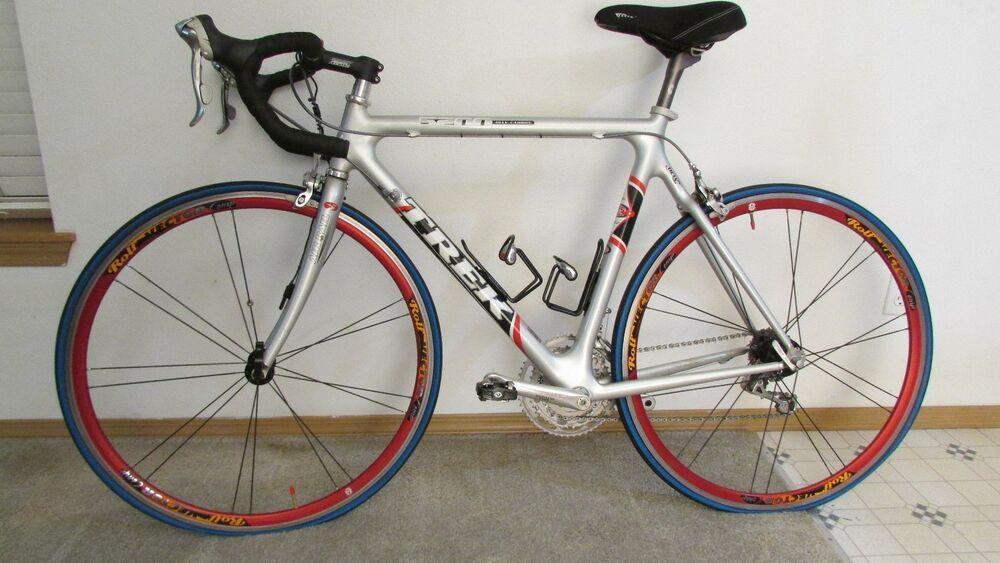 Trek Oclv 5200 Carbon Fiber Road Bike Full Shimano Ultegra 27 Speed Rolf Vector Toddler Bike Helmet Bike Trek Bicycle