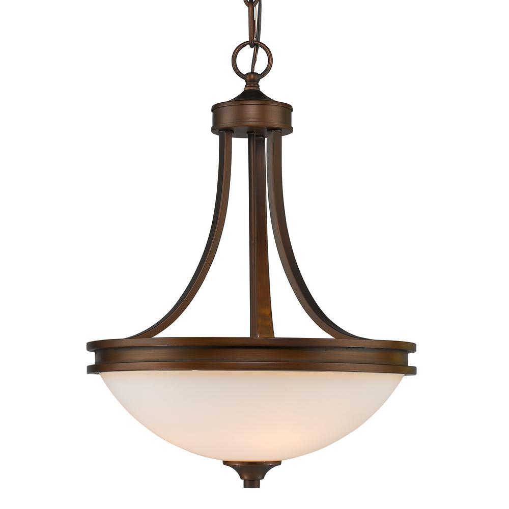 Golden lighting holborn collection light bronze pendant bronze