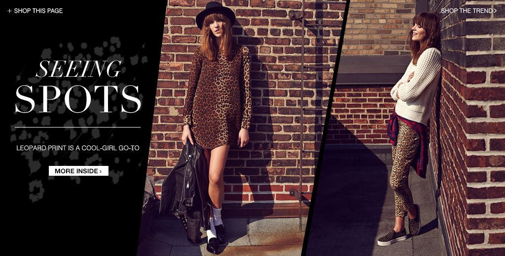 Leopard Prints Lookbook | SHOPBOP