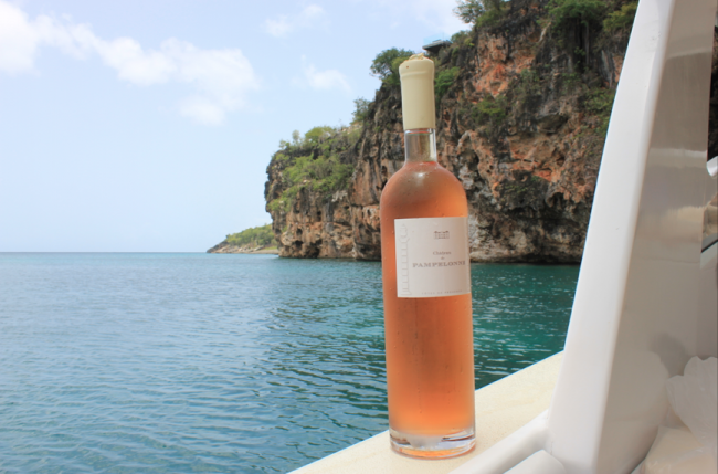 Rose drinkin' in #Anguilla. #paradise #caribbean