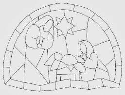 Plantillas De Vitrales Navidenos Buscar Con Google Presepe Di Natale Oggetti Biblici Bambini Di Natale