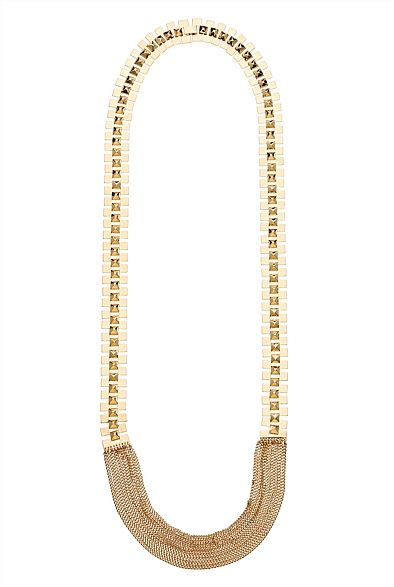 Watch Chain Necklace.