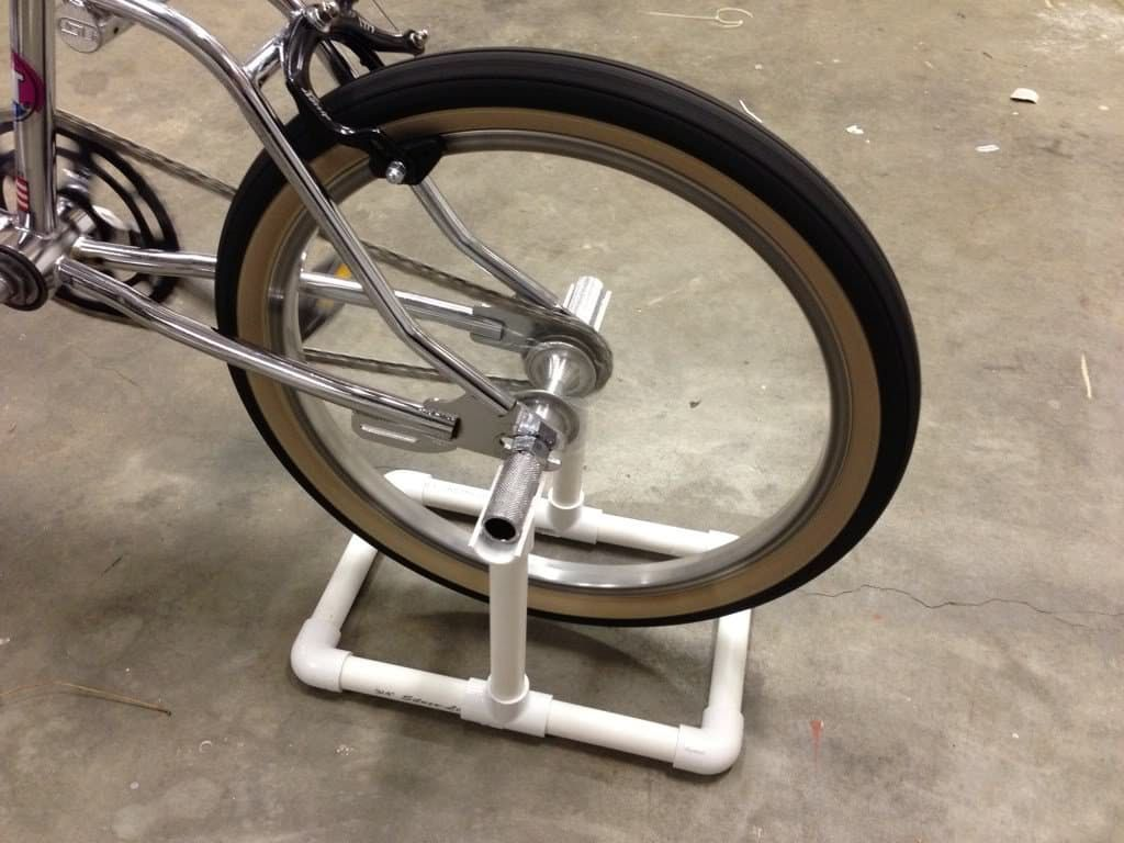 Ready To Roll Diy Ideas For Making Your Own Bike Stand
