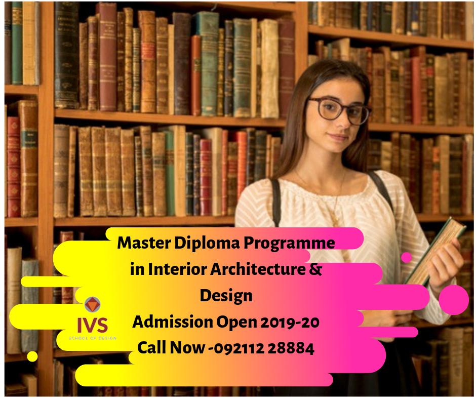 Master Diploma Programme In Interior Architecture Design