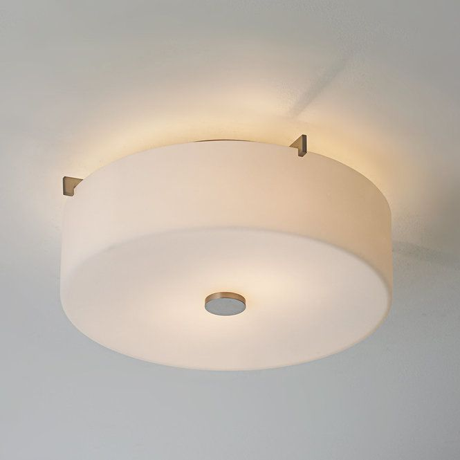 White Glass Drum Ceiling Light With Images Drum Ceiling Lights Ceiling Lights Ceiling Light Shades