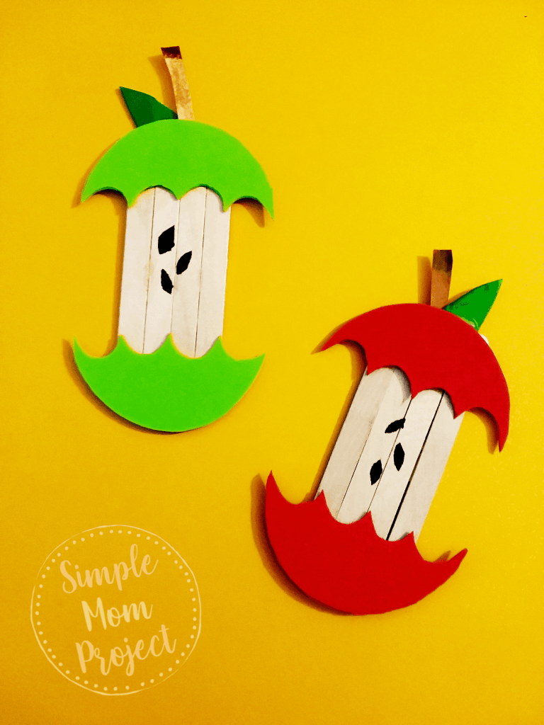 Popsicle stick crafts for kids - Preschool crafts - Craft stick crafts - Easy halloween crafts -