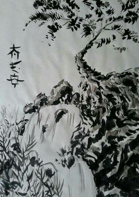 Dibujos Con Tinta China Dibujos A Tinta Tinta China Dibujos Tinta China