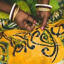 2013 Sari Bari Quilt Auction   Raffle