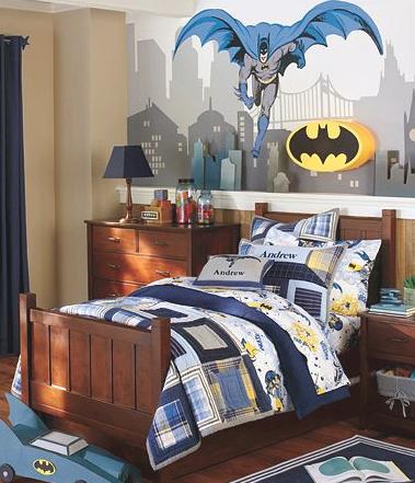Go Batman Batman Bedroom Decor Boys Bedroom Themes Batman Room