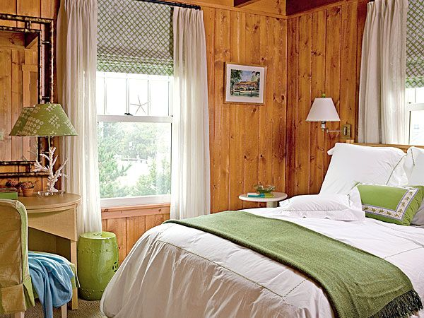 Beautiful Bedroom Wood Paneling And Its Unique Function: Bedroom Wood Paneling Ideas  ~ Clusterfree.com