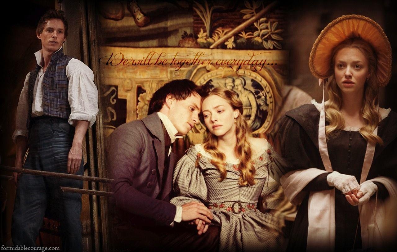 Les Mis 2012 Eddie Redmayne Marius And Amanda Seyfried Cosette In Les Miserables Les Miserables Movie Les Miserables Les Miserables Costumes
