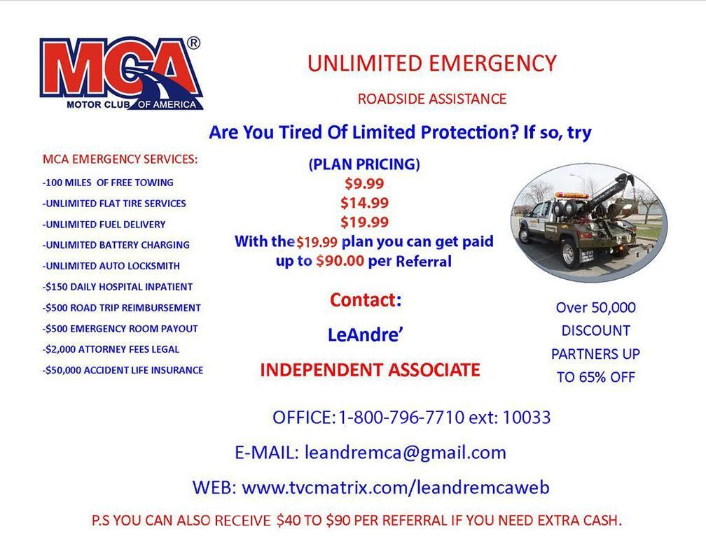 Try Motor Club Of America Today To Receive Great Vehicle Insurance