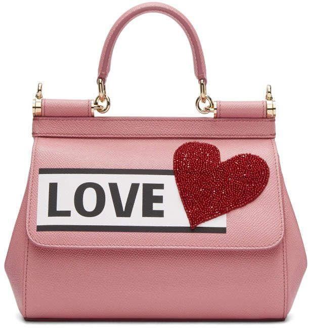f020e7ea6 Dolce & Gabbana Pink Love Sicily Bag | Bolsa en 2019 | Dolce ...