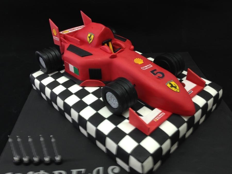 Ferrari Formula 1 Cake Ferrari Cake Racing Cake Car Cake