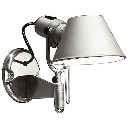 Tolomeo Classic Led Wall Spot Artemide Wall Lights Contemporary Wall Sconces